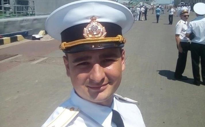 Василь Сорока отримав поранення під час захоплення Росією українських кораблів / фото Olena Syvak/Facebook