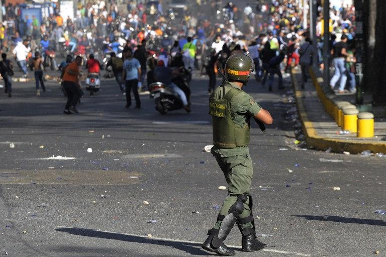 В Венесуэле продолжаются протесты / фото Flickr/by Diario Critico Venezuela