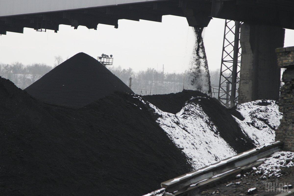 Найбільше вугілля на складах міститься на Слов'янській ТЕС / УНІАН Володимир Гонтар