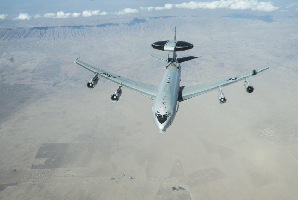 Літак дальнього радіолокаційного виявлення E-3 AWACS / Фото: Twitter