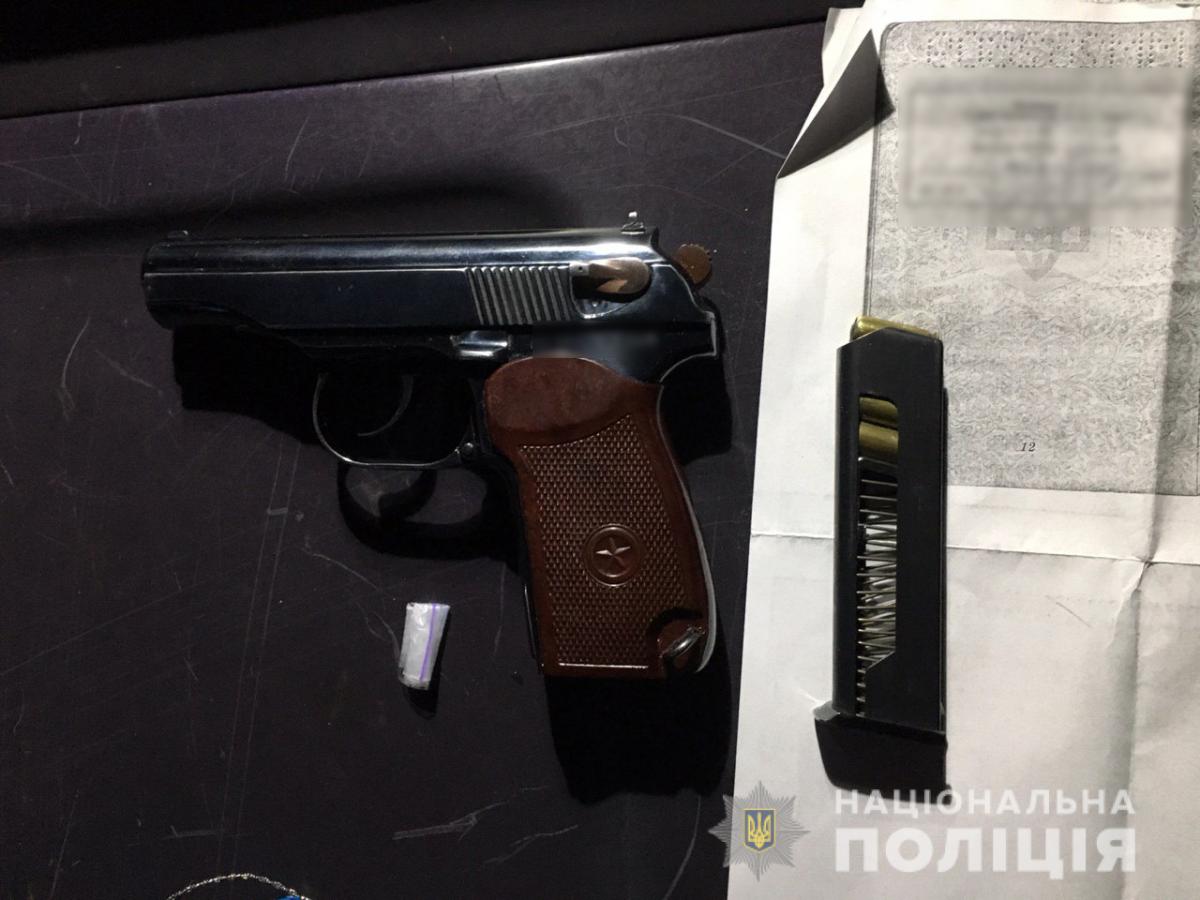В Харькове задержали вооруженного криминального авторитета / Отдел коммуникации полиции Харьковской области