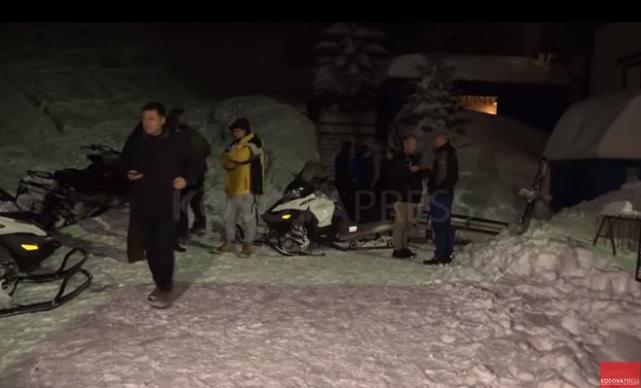 Снежная лавина убила замминистра правительства Косово / Скриншот - Youtube, Kosova Press