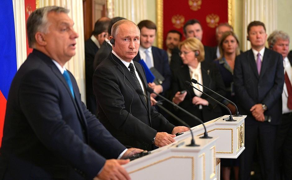 Орбан не хоче допомагати США приборкати Росію / kremlin.ru