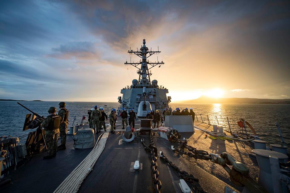 Корабли НАТО не прекратят патрулирование Черного моря / facebook.com/USSDonaldCook/