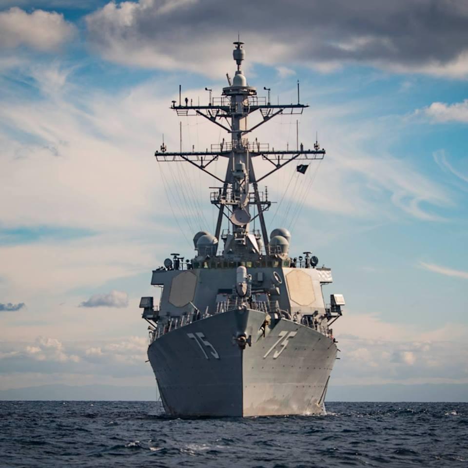 Корабль был назван в честь Дональда Кука, полковника морской пехоты США, который попал в плен во время войны во Вьетнаме / фото facebook.com/USSDonaldCook/