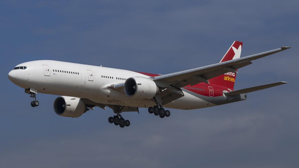 Пасажирів на борту літака місткістю близько 500 людей не було / фото flickr.com/papasdos