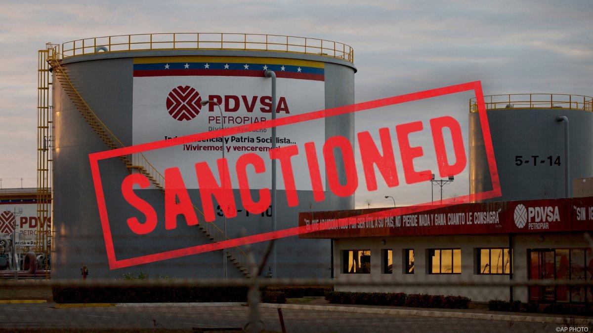 США ввели санкції проти компанії PDVSA / фото twitter.com/SecPompeo