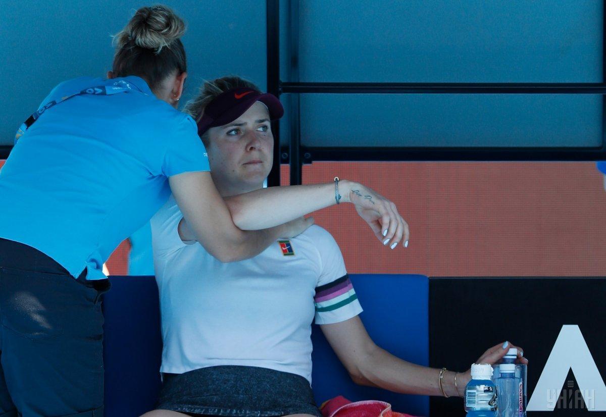 Свитолина говорит, что получила повреждение на турнире Australian Open / фото УНИАН