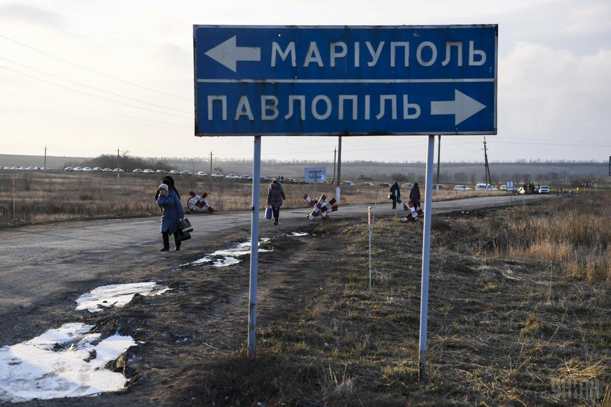 Обстрел из стрелкового оружия осуществлялся со стороны вооруженных формирований РФ \ УНИАН