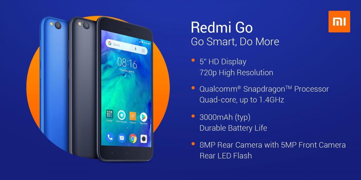 Ультрабюджетный смартфон Xiaomi Redmi Go представлен официально / фото itc.ua