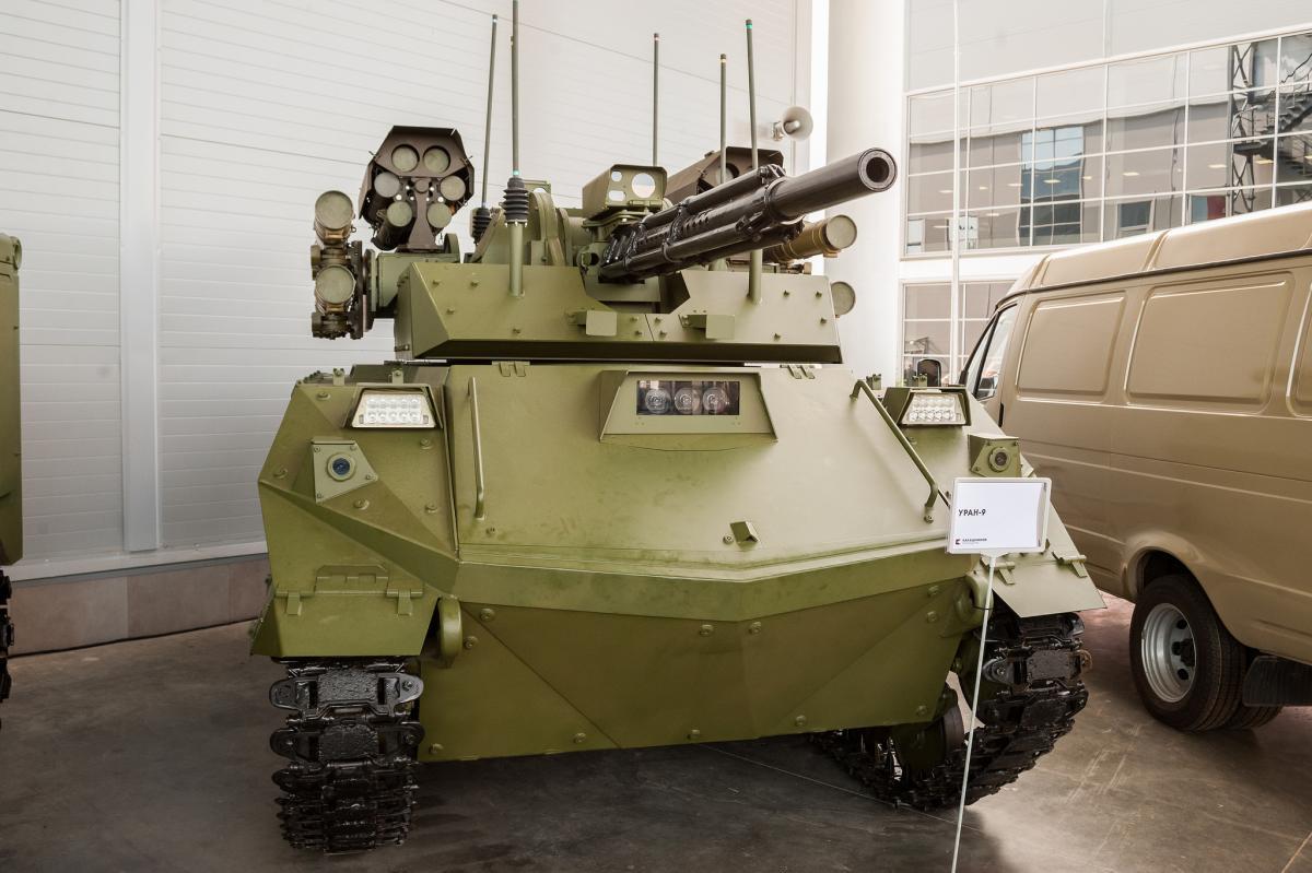 """Розхвалений безпілотник """"Уран-9"""" виявився ні на що не здатним / Flickr/Dmitriy Fomin"""