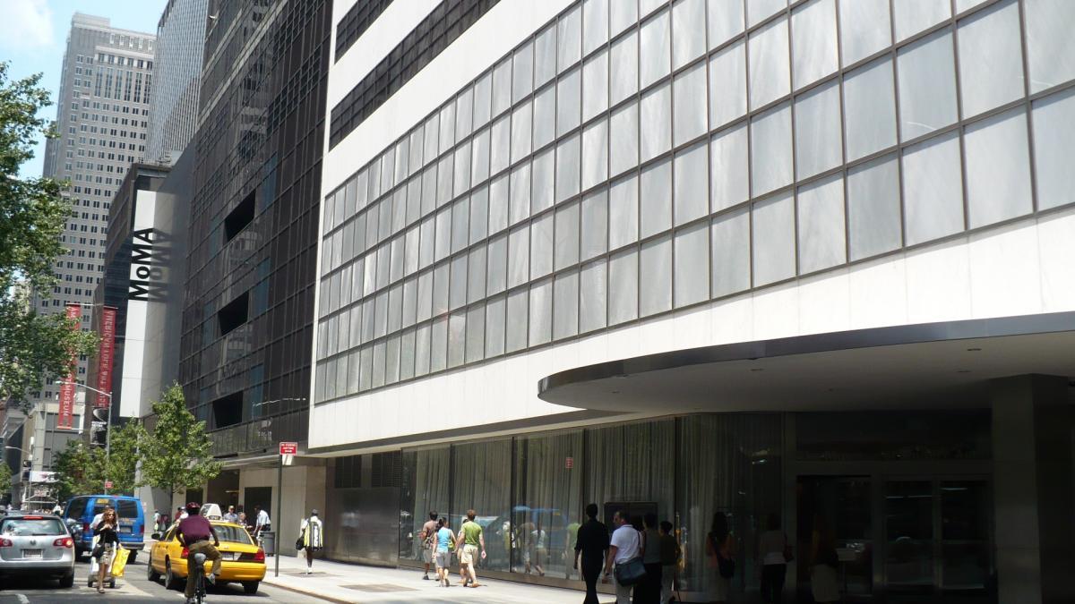 Фасад MoMA, Нью Йорк / Фото google.com