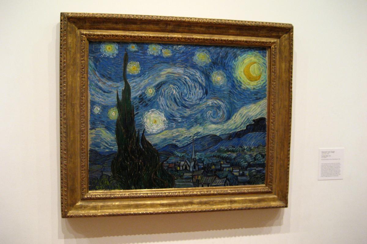 «Звездная ночь» Винсента Ван Гога (МоМА, Нью-Йорк) / Фото flickr.com