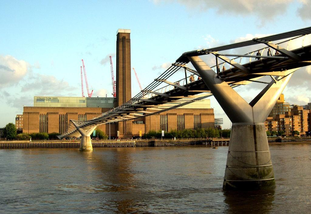 Старое здание музея Tate Modern, Лондон / Фото flickr.com