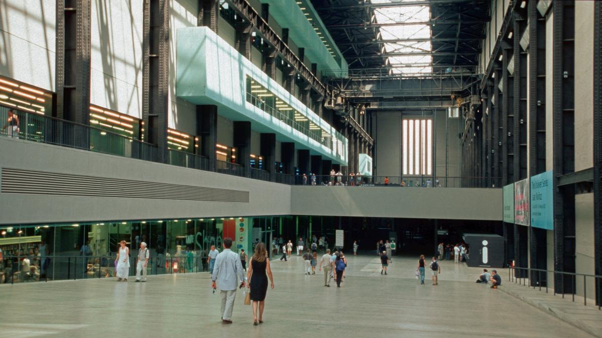 Холл музея Tate Modern, Лондон / Фото flickr.com