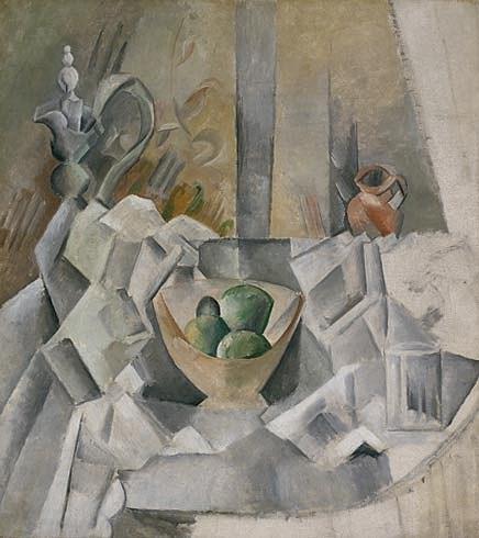 Пабло Пикассо «Графин, кувшин и ваза с фруктами» / Фото flickr.com