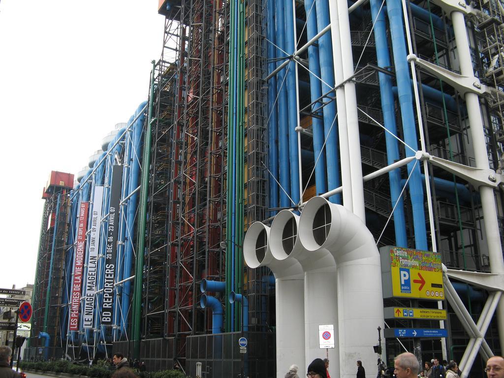 Центр Жоржа Помпиду, Париж / Фото google.com