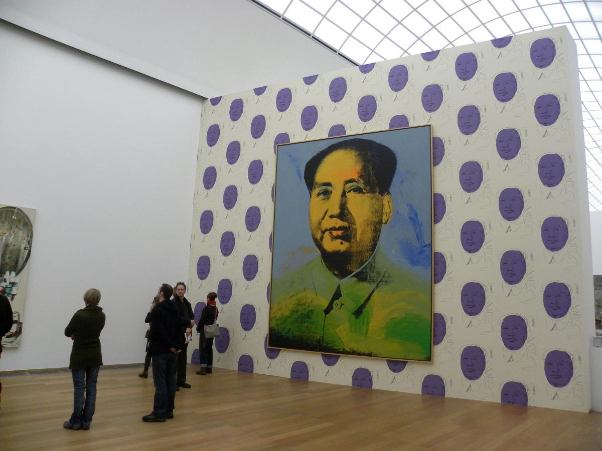 Работа известного художника Зигмара Польке / Фото flickr.com