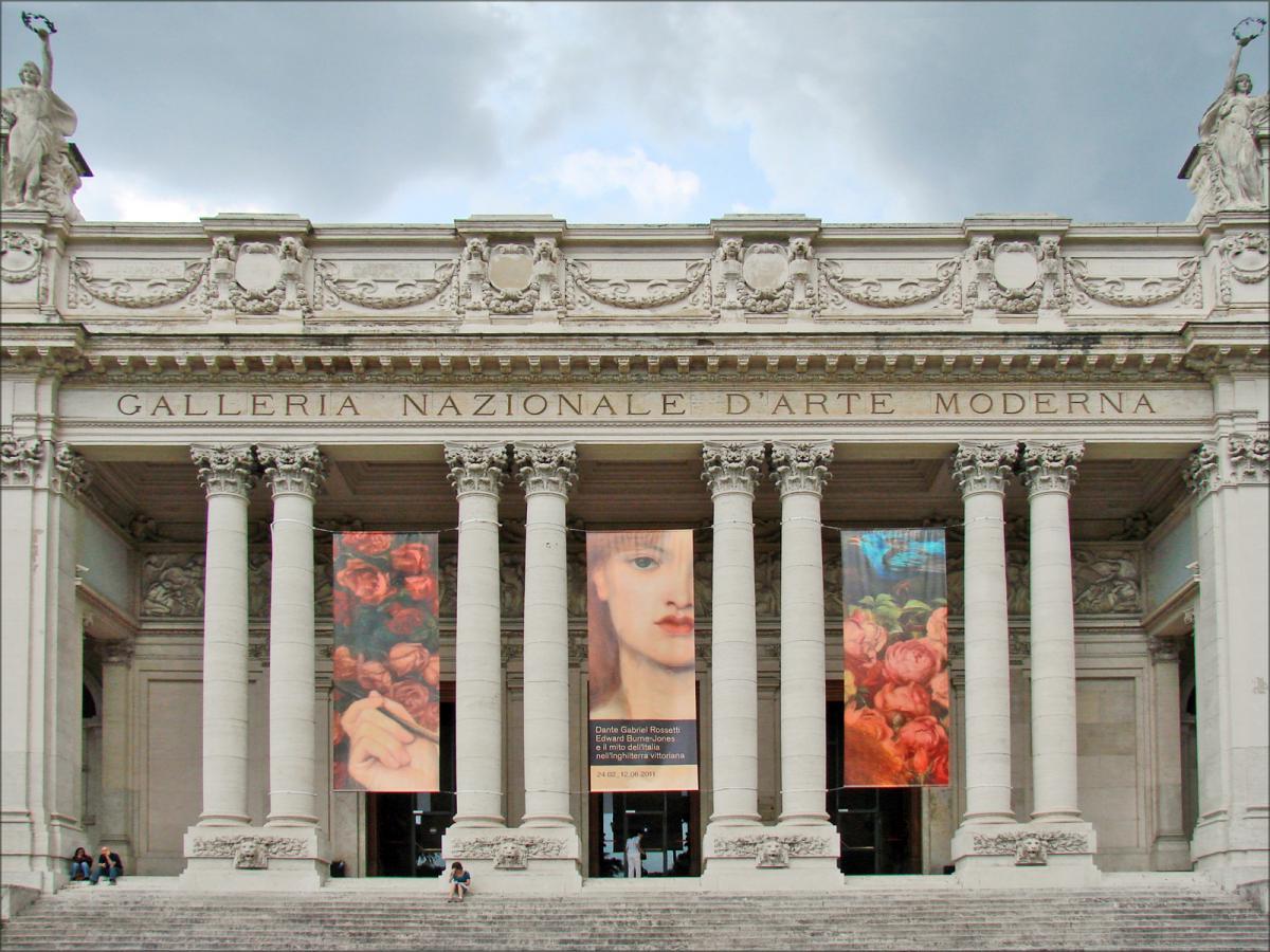 Национальная галерея современного искусства, Рим / Фото google.com