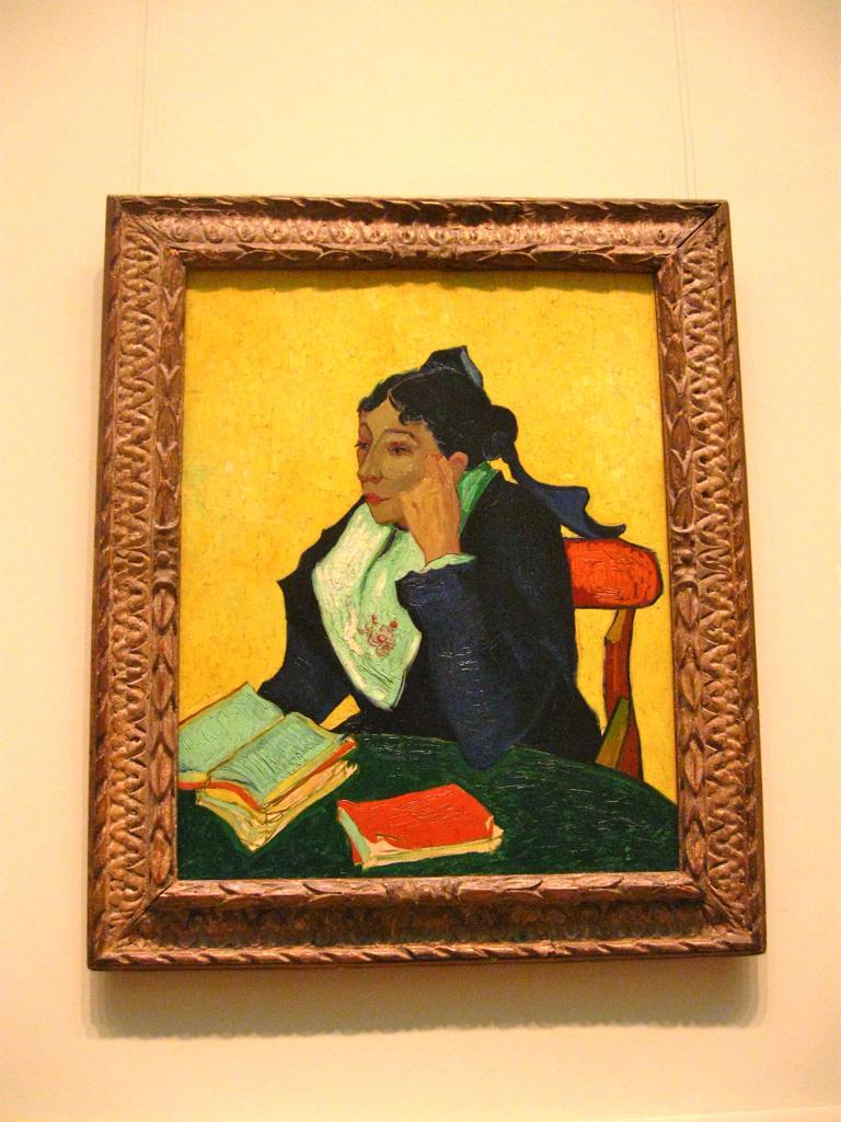 Винсент Ван Гог «Арлезианка» (GNAM, Рим) / Фото flickr.com