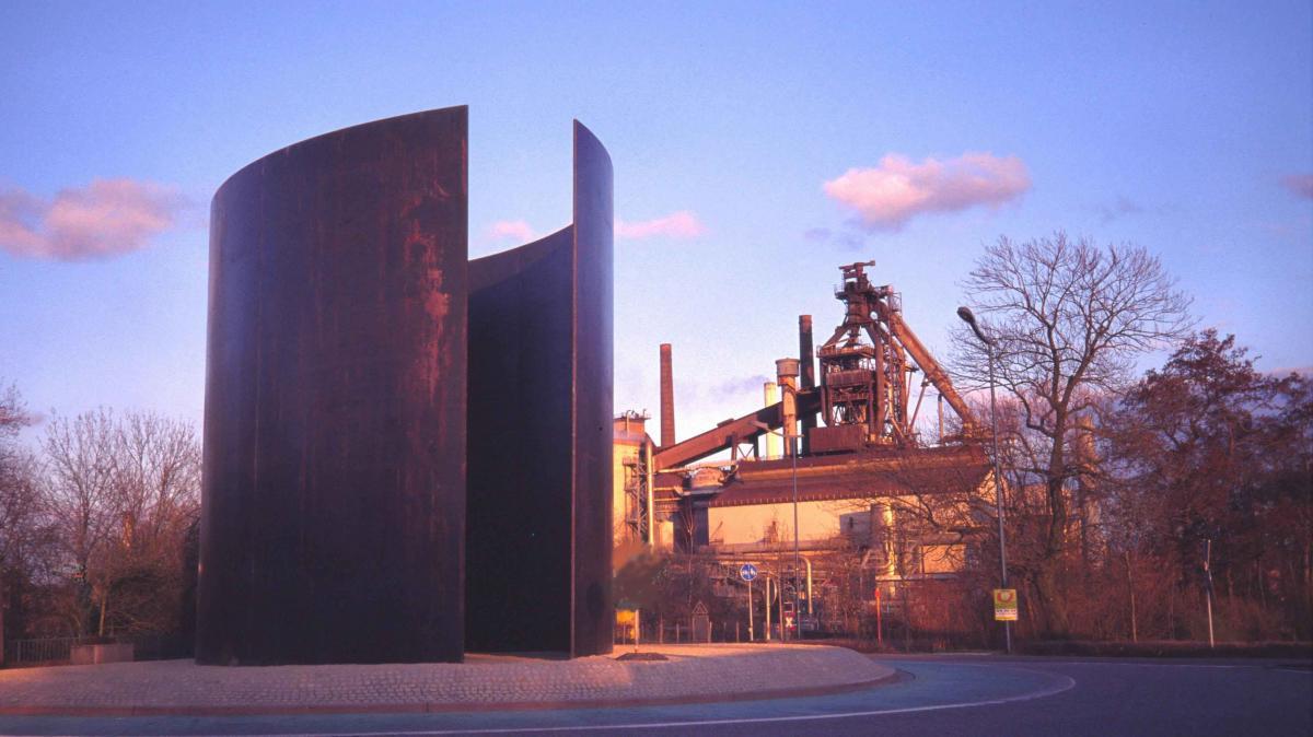 Работа американского скульптора Ричарда Серра / Фото google.com