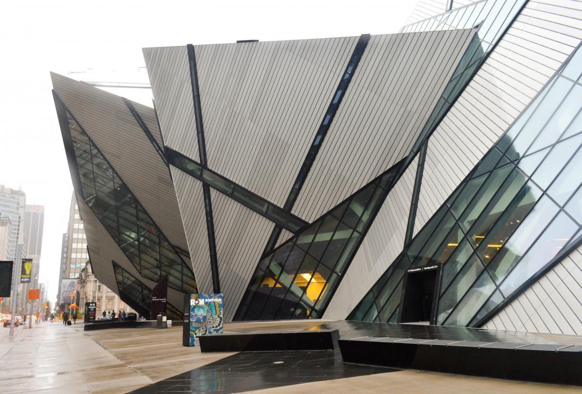Оригинальный фасад Королевского музея Онтарио / Фото flickr.com