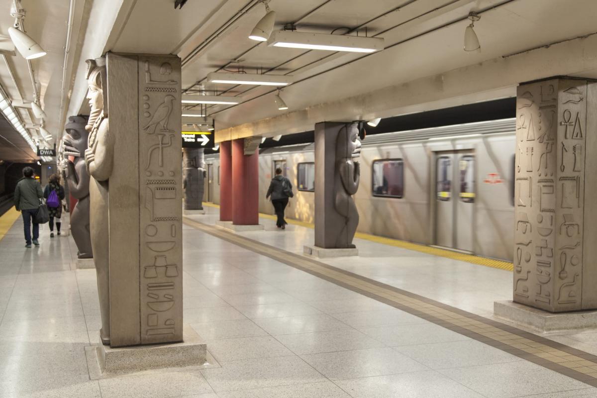 Станция метро, которая ведет к музею / Фото google.com