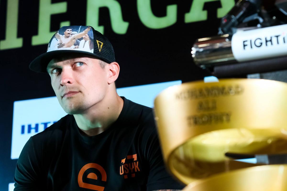 Александр Усик / фото K2 Promotions
