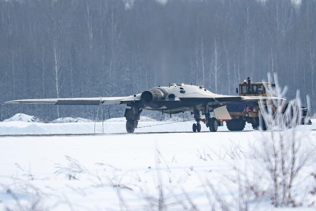 """Російський БПЛА """"Охотник"""" проходить випробування / фото Instagram - Fighterbomber"""
