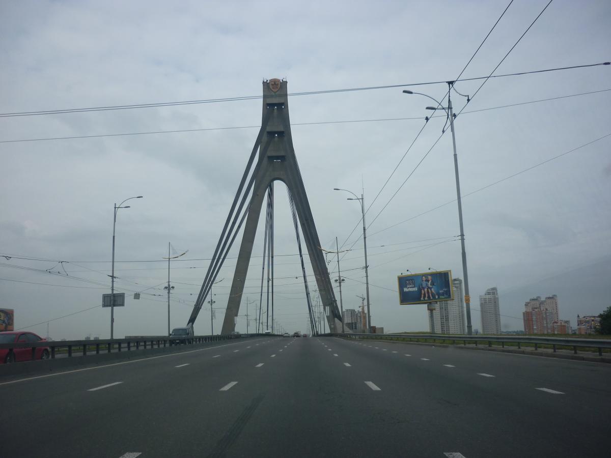 Сегодня дорожники будут ремонтировать столичный Северный мост / фото wikipedia.org