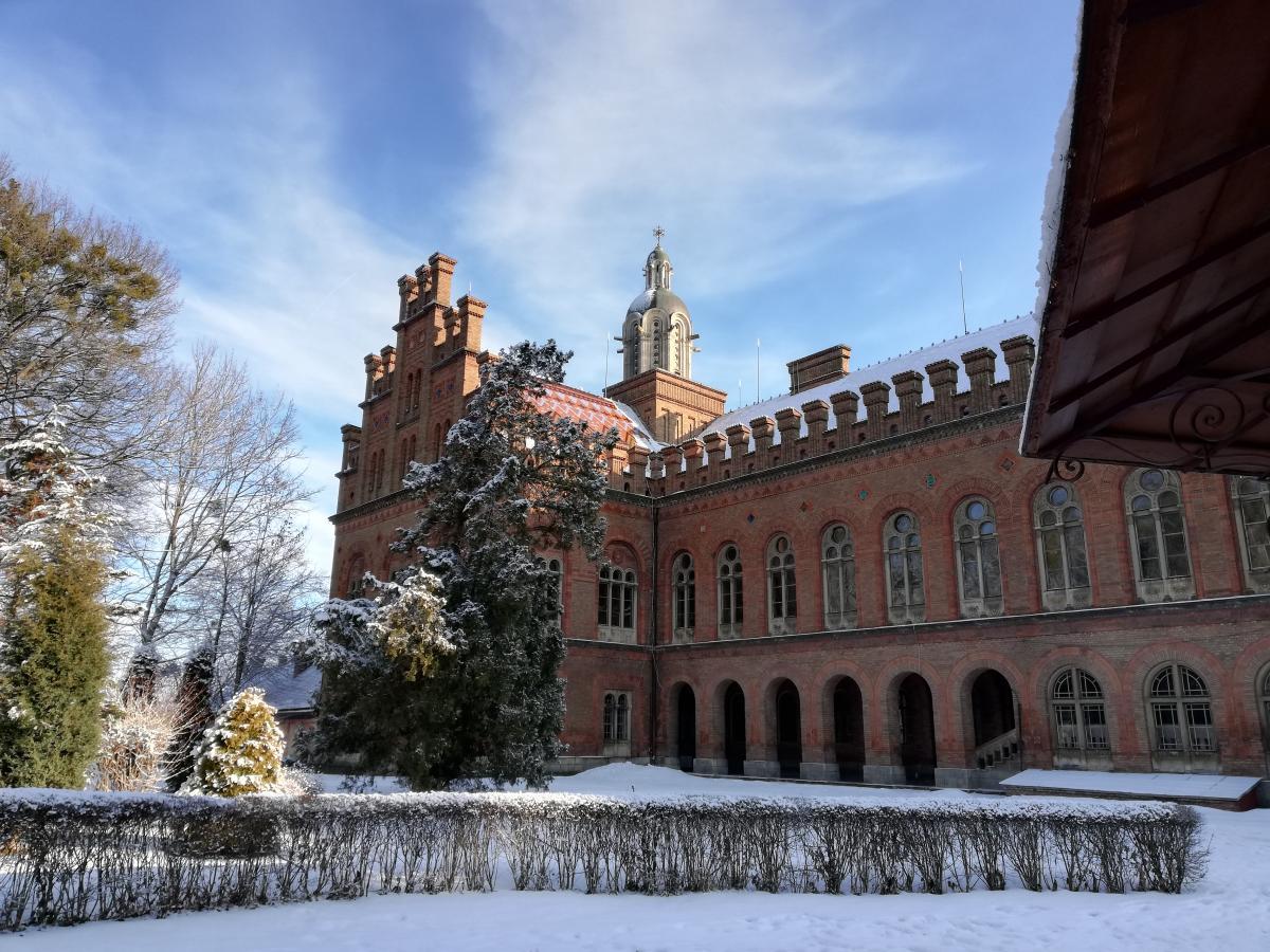 Вид на университет из дендропарка / фото Марина Григоренко