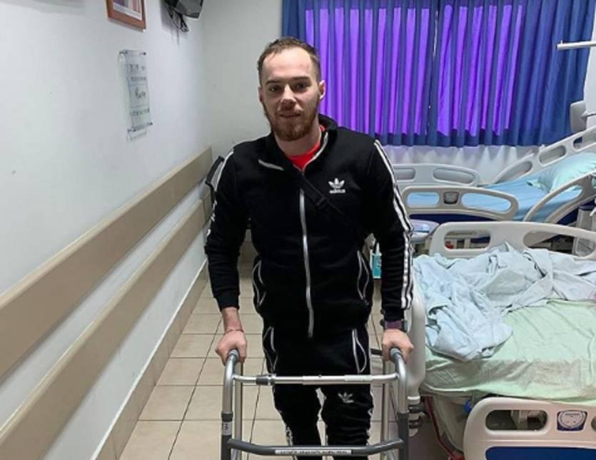 Олег Верняев находится в израильской клинике / instagram.com/verniaiev13