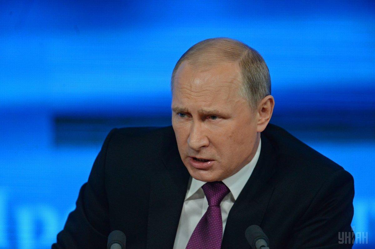 Володимир Путін / фото УНІАН