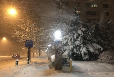 В США жертвами снежной бури стали пять человек (видео)