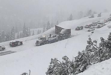 Смертоносный снежный шторм в США унес жизни шести человек