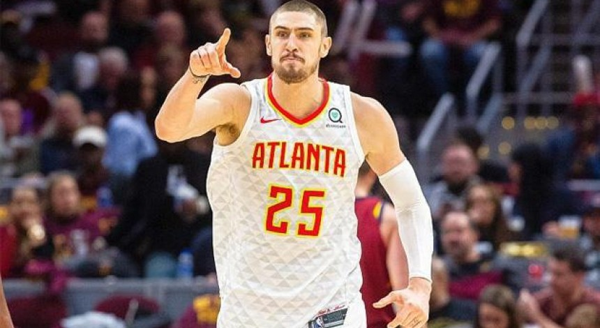 Украинец Лэнь набрал 9 очков в победном матче Атланты против Филадельфии в НБА
