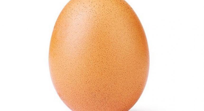 Найпопулярніше яйце в мережі опублікувало нове фото