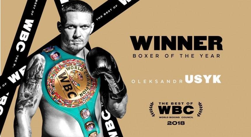 Усик визнаний найкращим боксером року за версією WBC, Гвоздик - відкриття року