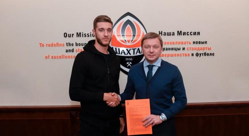 Валерій Бондаренко став гравцем донецького Шахтаря