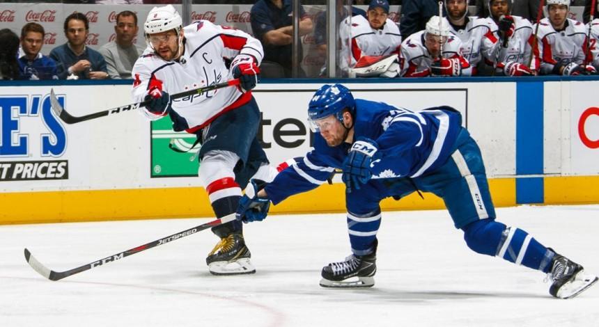 Торонто завдав Вашингтону 7-ї поразки поспіль в НХЛ