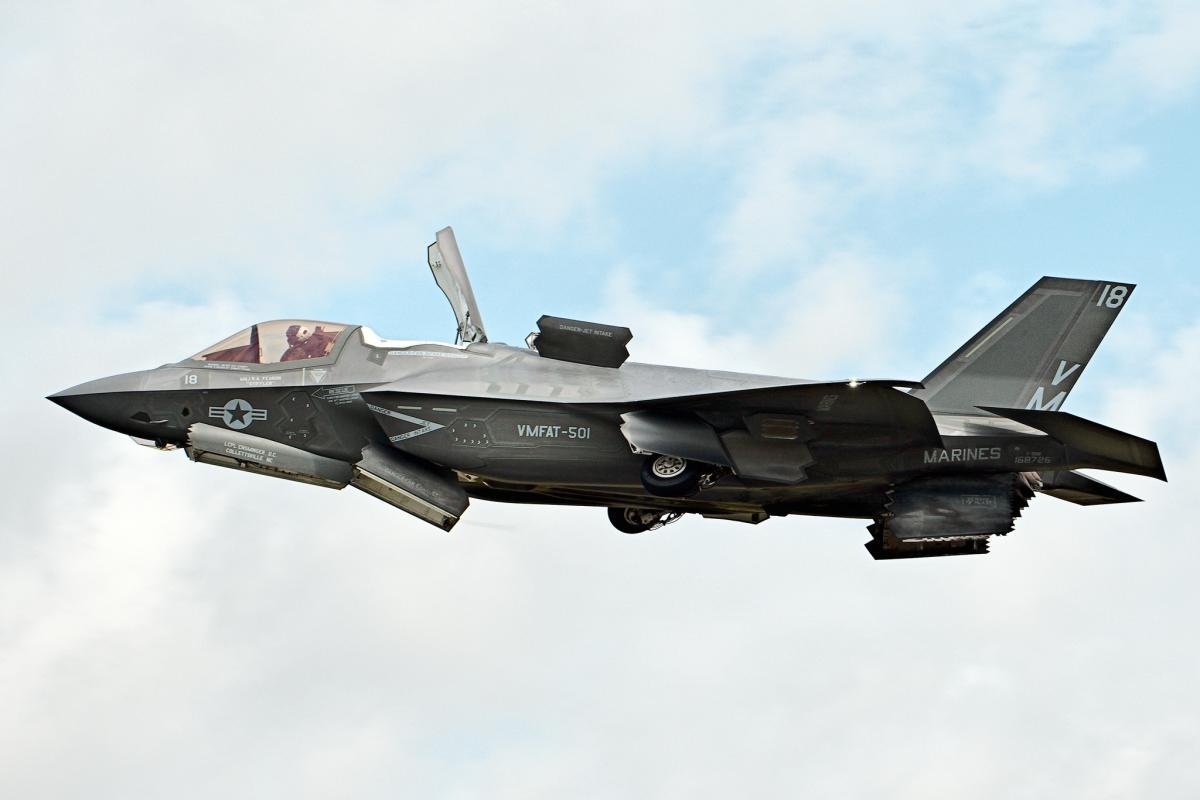 «Джеральд Форд» і F-35С виявилися несумісними / фото flickr.com/24874528@N04