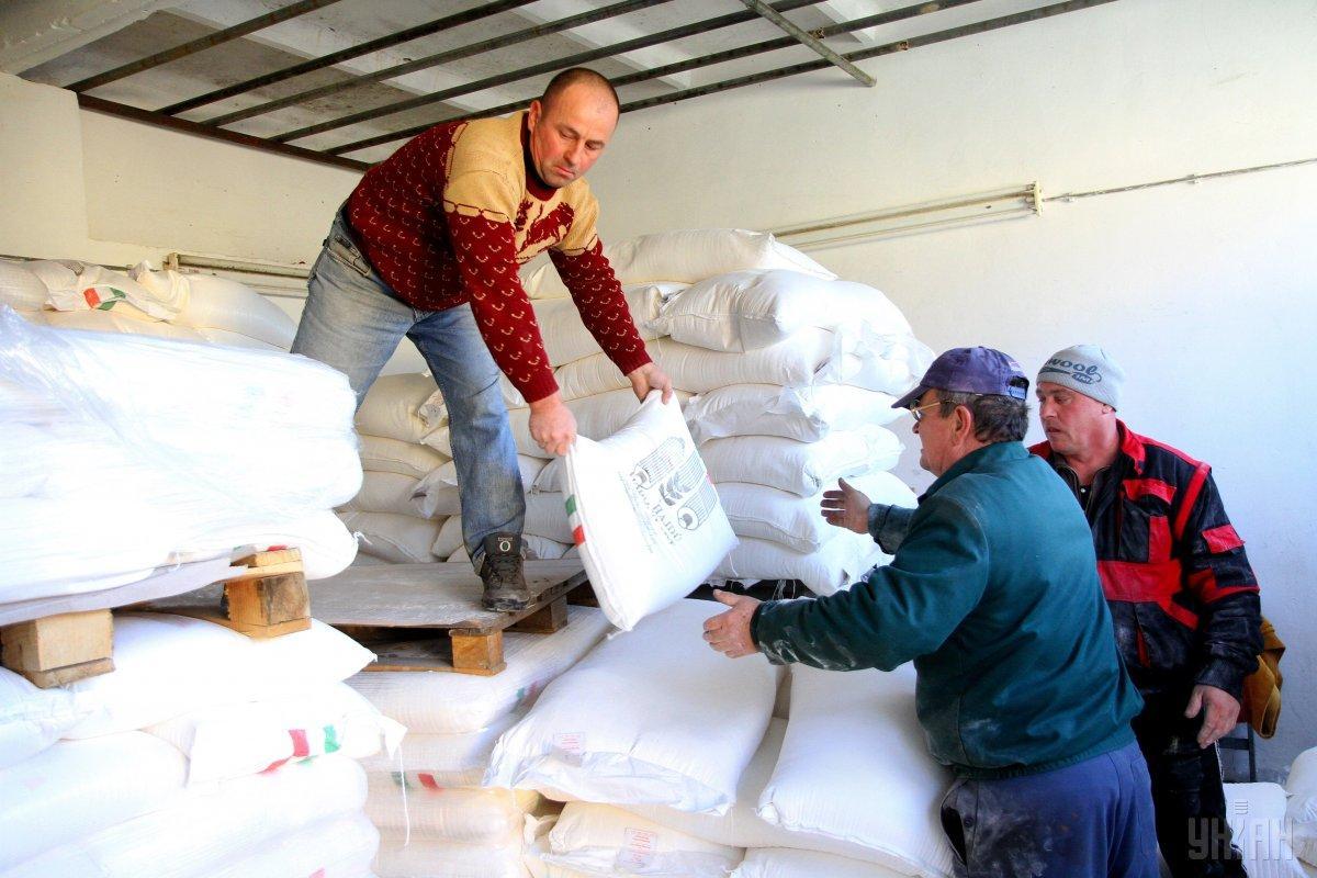 Украина сократила экспорт муки / фото УНИАН
