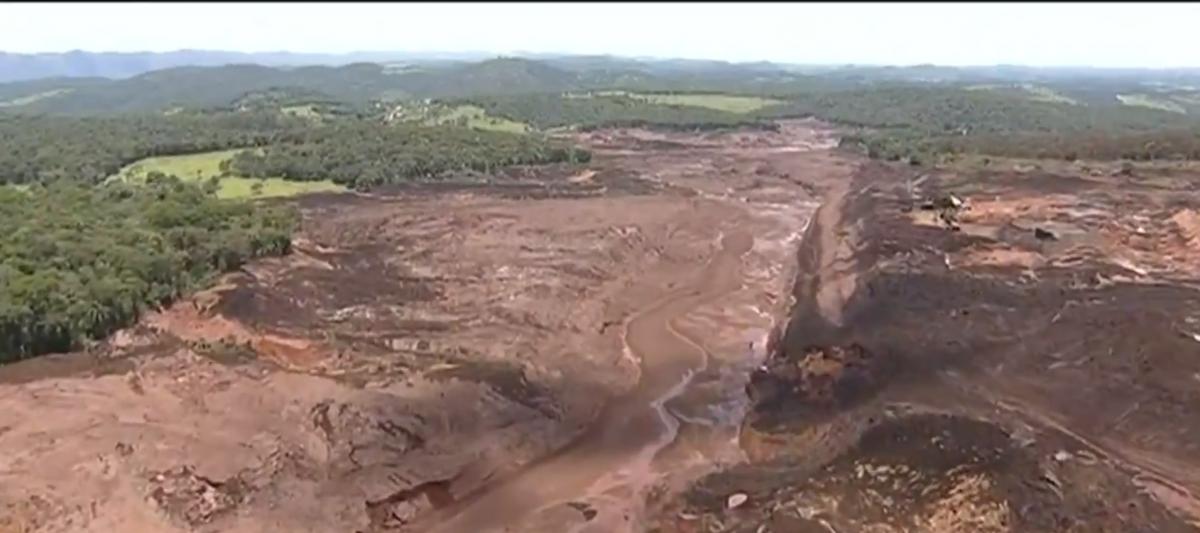 Поток грязи уничтожил сирены раньше, чем был подан звуковой сигнал / twitter.com/recordtvminas