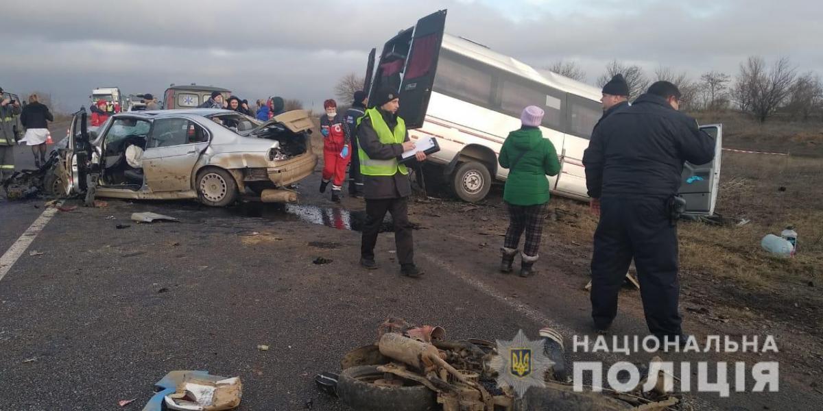 В Одесской области погибшей в ДТП погибла 14-летняя девочка / фото od.npu.gov.ua