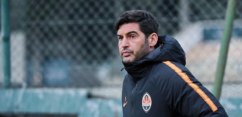 Паулу Фонсека хочет, чтобы на футбол ходило больше болельщиков / фото: shakhtar.com