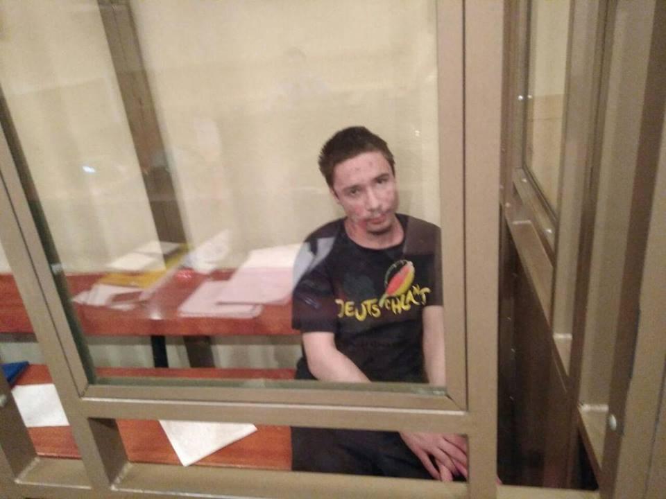 Російський суд відхилив апеляцію Павла Гриба / фото Facebook