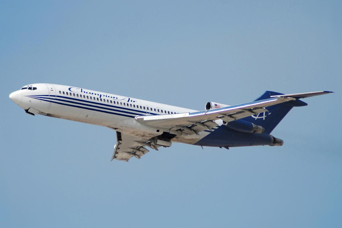 ПассажирскийсамолетBoeing 727/ фото wikimedia.org