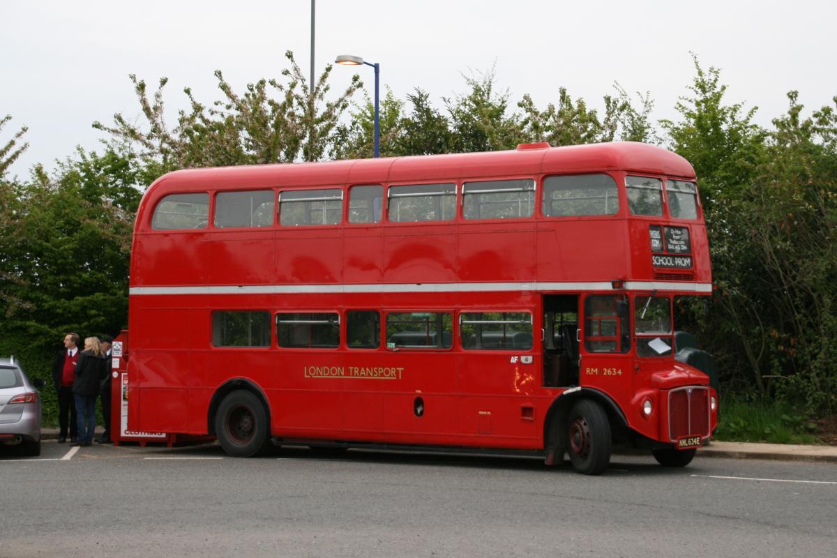 Рутмастер самым узнаваемым автобусом в мире / фото flickr.com/36593372@N04