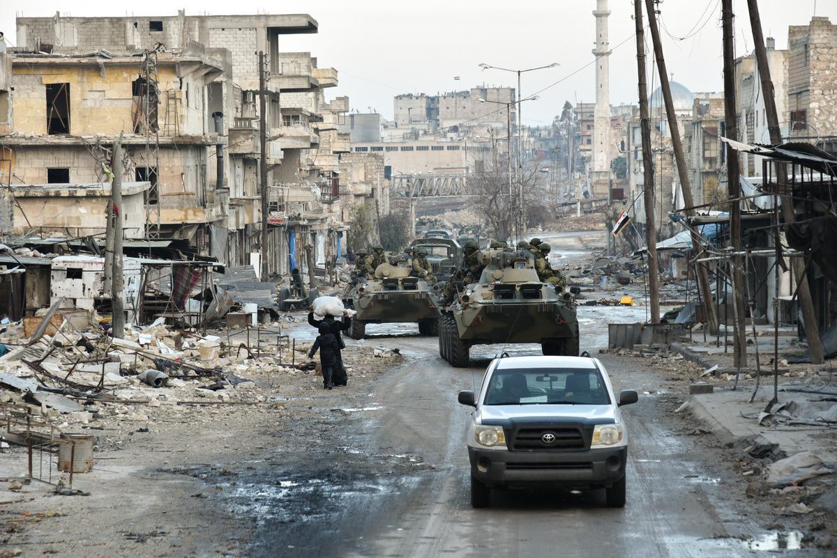 По данным расследователей, ПГК действует на стороне сирийского президента Башара Асада \ Wikimedia Commons