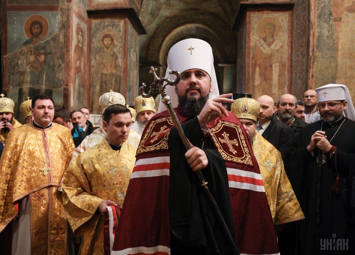 Как отмечает Епифаний, на оккупированных территориях Донбасса систематически нарушаются права верующих / УНИАН